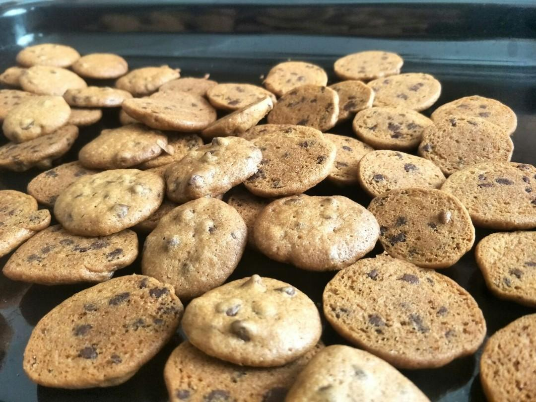 Brown Sugar Choc Chip Cookies (halal), Food & Drinks, Baked