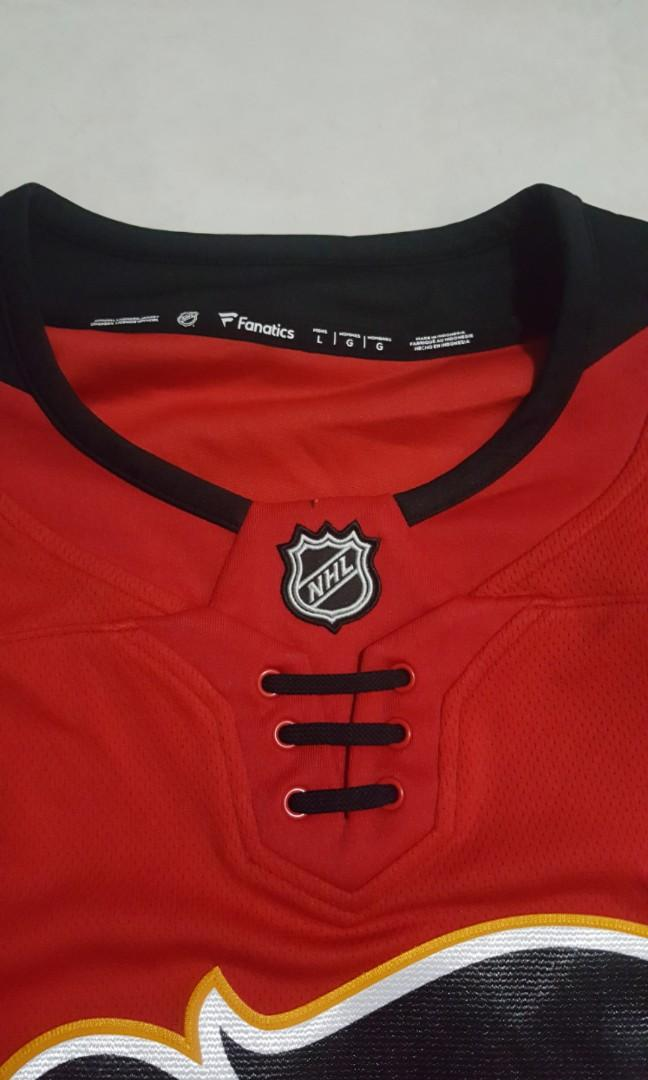 separation shoes 062bc 82148 Calgary Flames Fanatics Branded Breakaway Home Jersey - Red ...