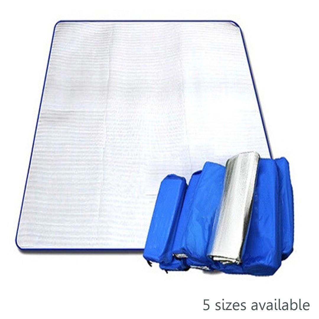 Camping Mat 防潮墊 帳篷 鋁膜 露營 Aluminum Foil Cushion Heat Insulation Activities Family beach mattress CA001