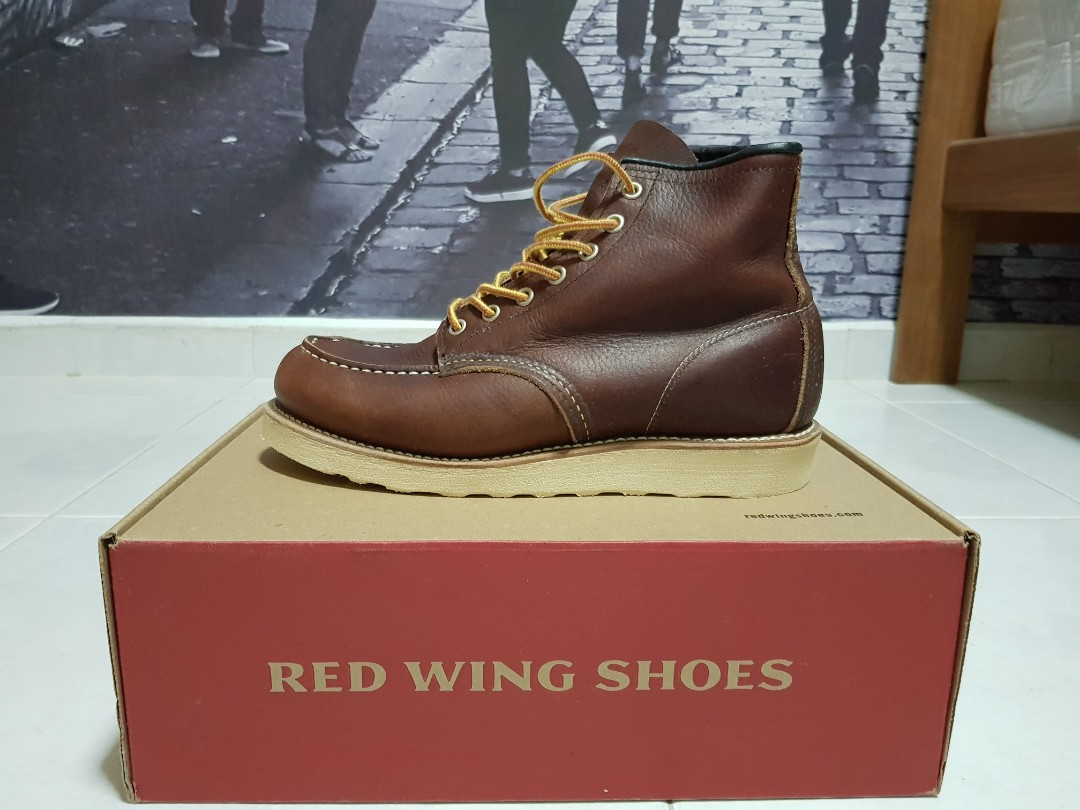 d6bb3d5cc8b Classic Red Wing Moc Toe US6.5