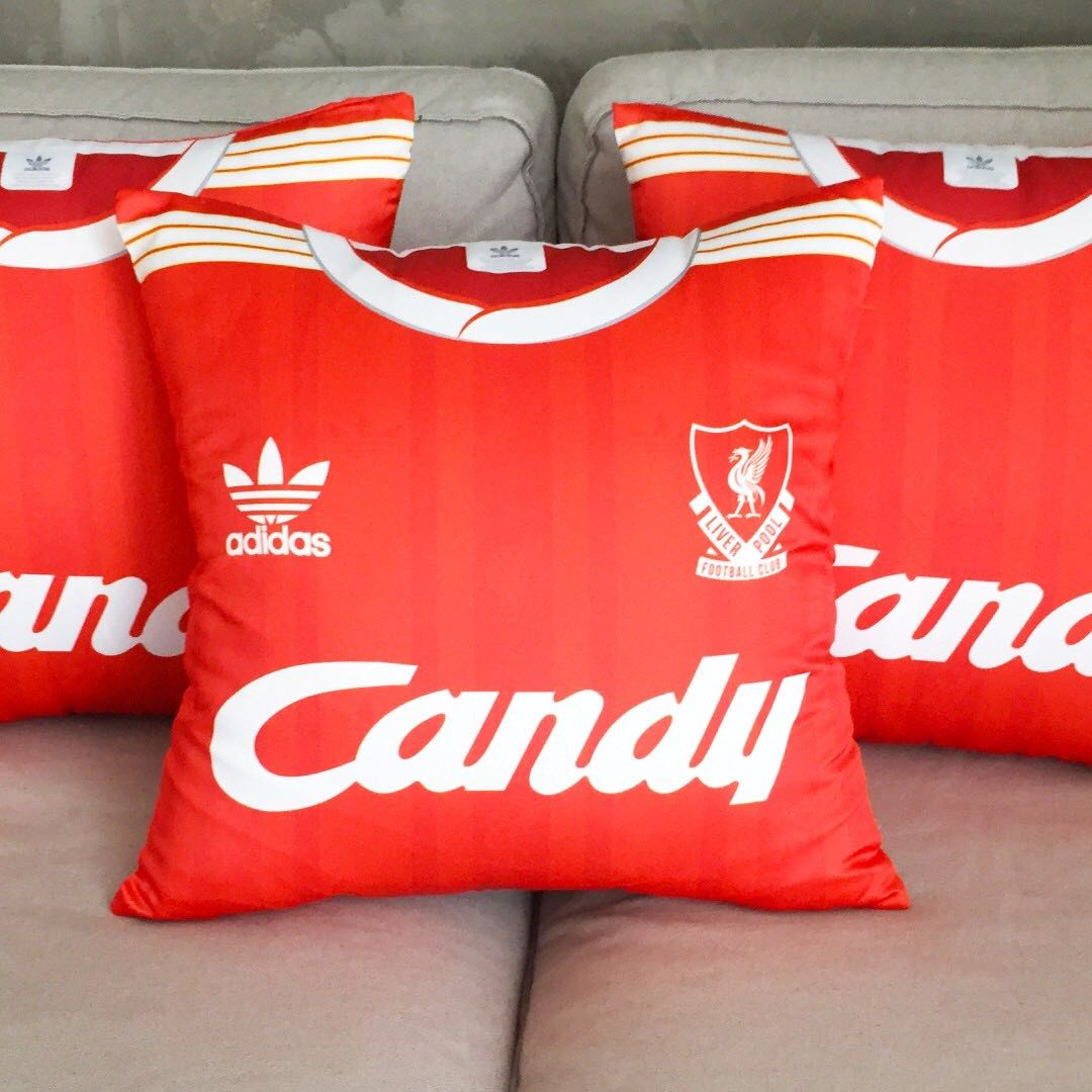 the latest b8ad0 d9615 Customised Liverpool FC 1988-89 (CANDY) Home Kit - RARE