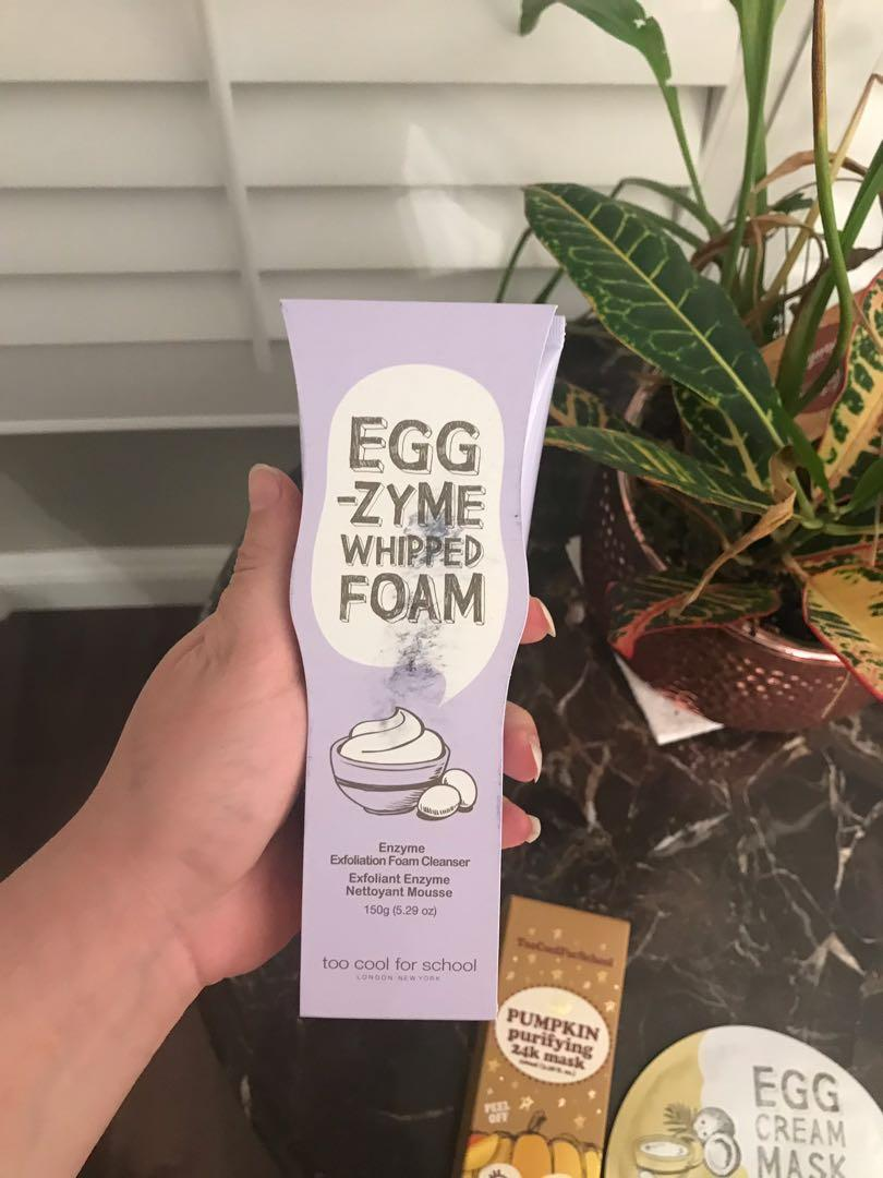 Egg-Zyme Whipped Foam Cleanser Too Cool for School