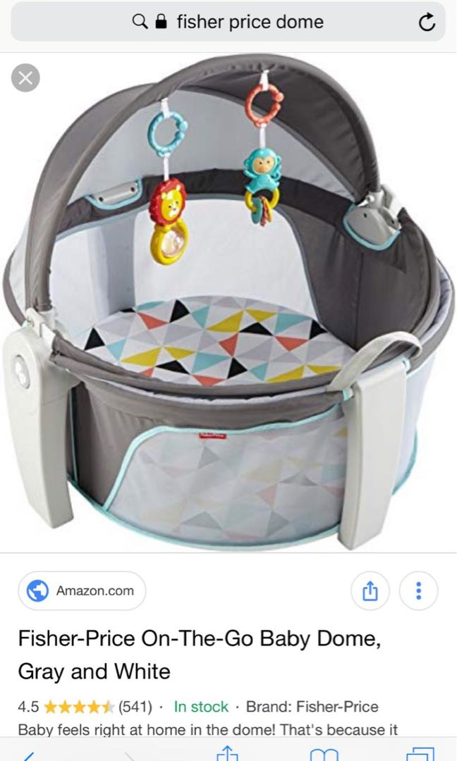 999333171cc6 Fisher price on the go baby dome