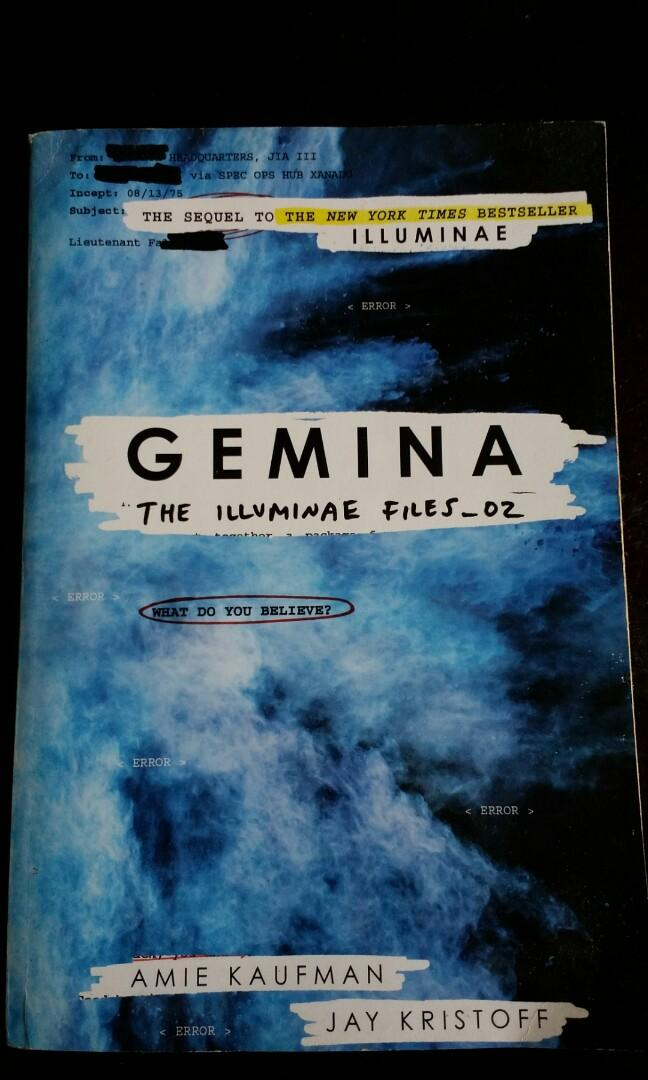 Gemina The Illuminae Files_02 by Amie Kaufman and Jay Kristoff