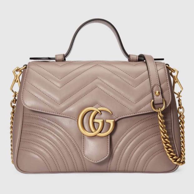 177808e40a00 Gucci GG Marmont Small Shoulder bag, Luxury, Bags & Wallets ...