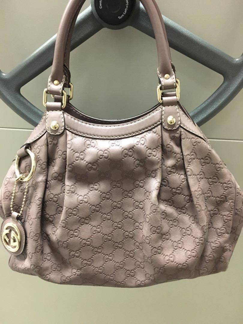 3b6c81ea0791 Gucci Sukey medium full leather bag, Luxury, Bags & Wallets ...
