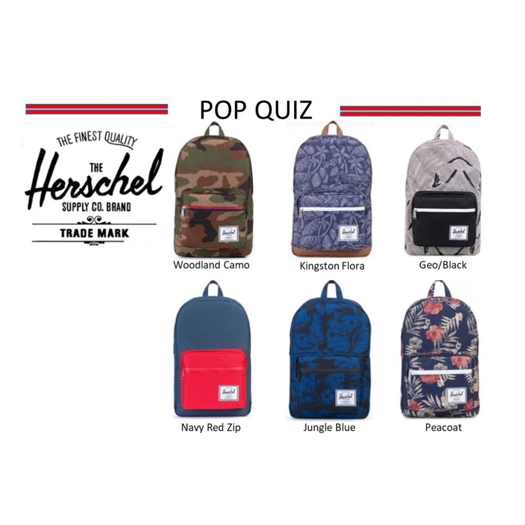 14ffd54610 Herschel Supply Pop Quiz Backpack   Herschel   Herschel Backpack ...