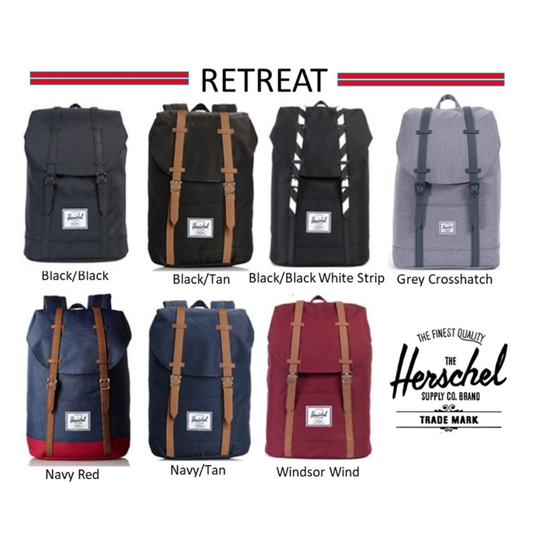 7304c59aa0aa Herschel Supply Retreat Backpack   Herschel   Herschel Backpack   Herschel  Retreat   Herschel Retreat Backpack