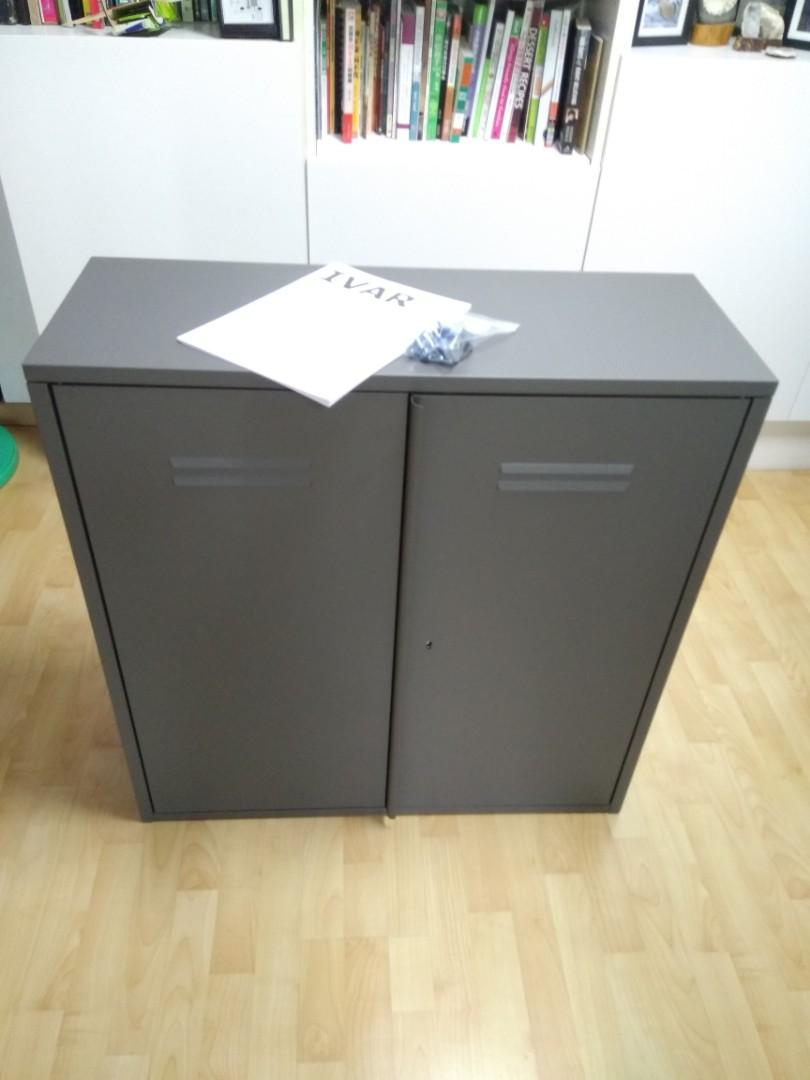 Ikea Ivar metal cabinet (1 day old), Furniture, Others on