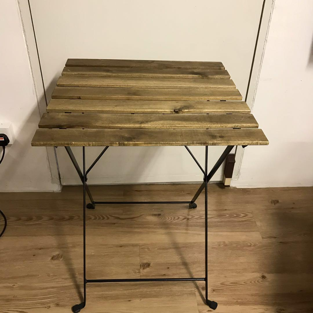 Ikea Square Foldable Table Furniture Tables Chairs On Carousell