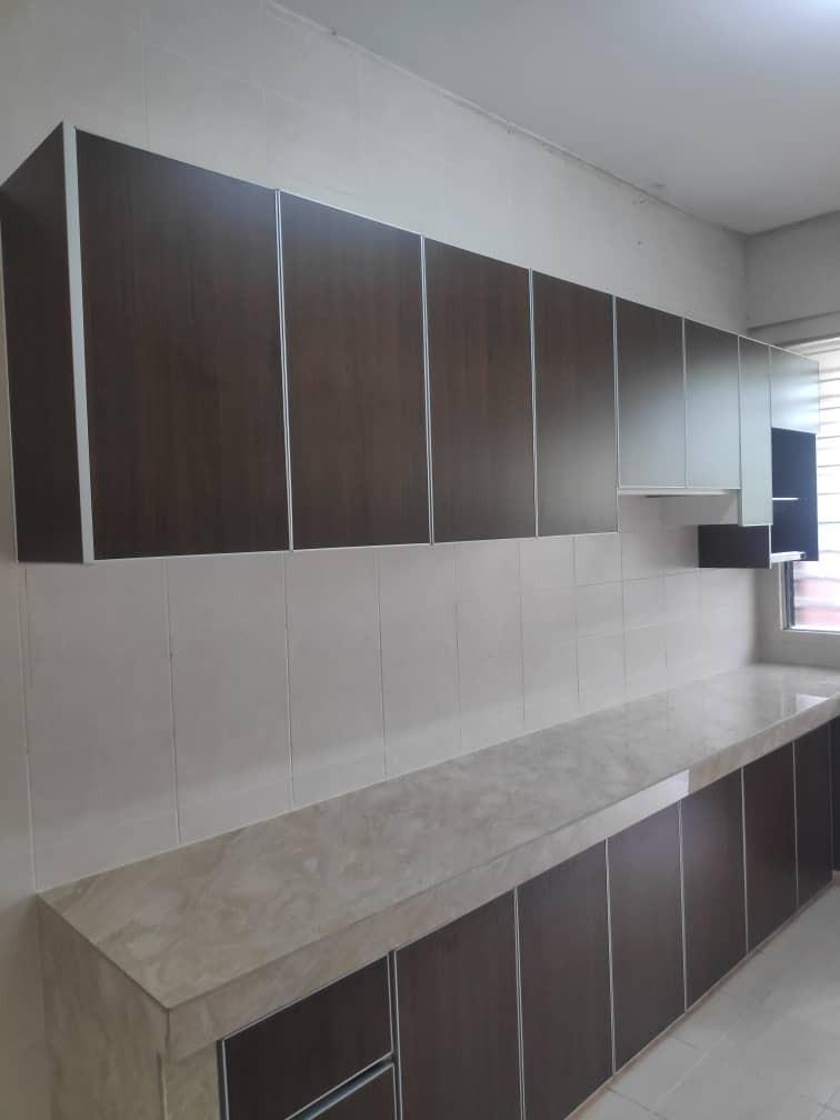Kabinet Dapur Kitchen Cabinet Melamine Home Furniture Furniture On Carousell
