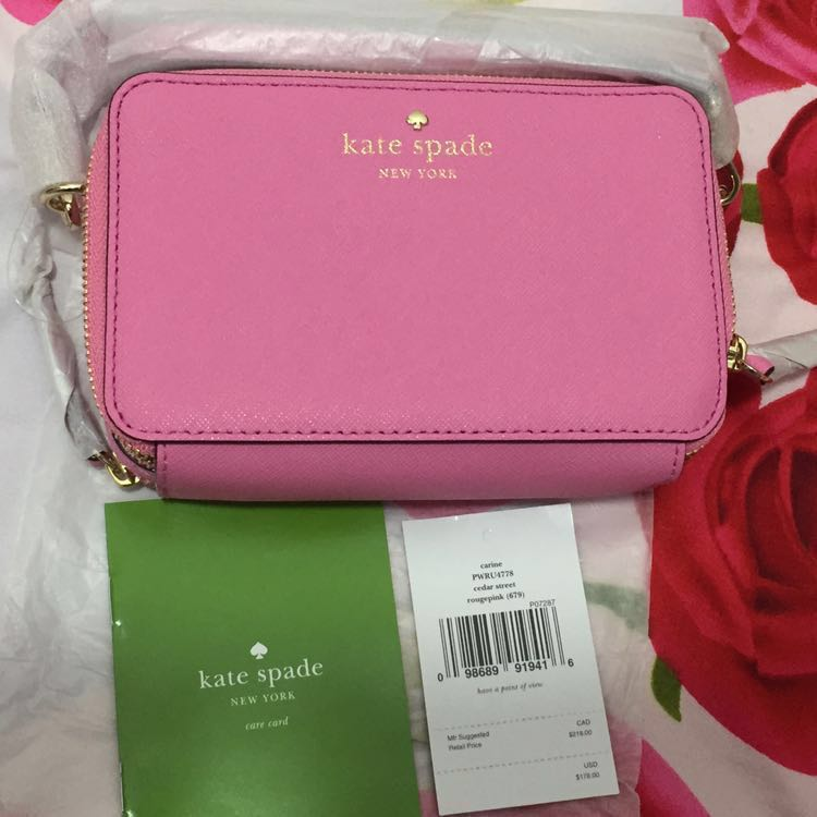10fc39452f2a Kate Spade (Wallet on Chain Detachable)