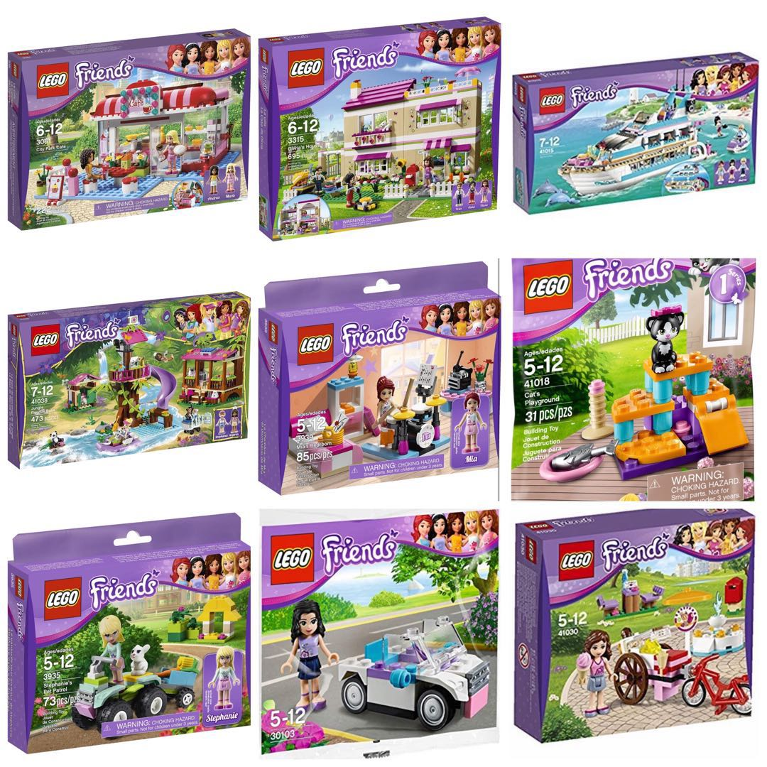 Lego Friends Sets Toys Games Bricks Figurines On Carousell