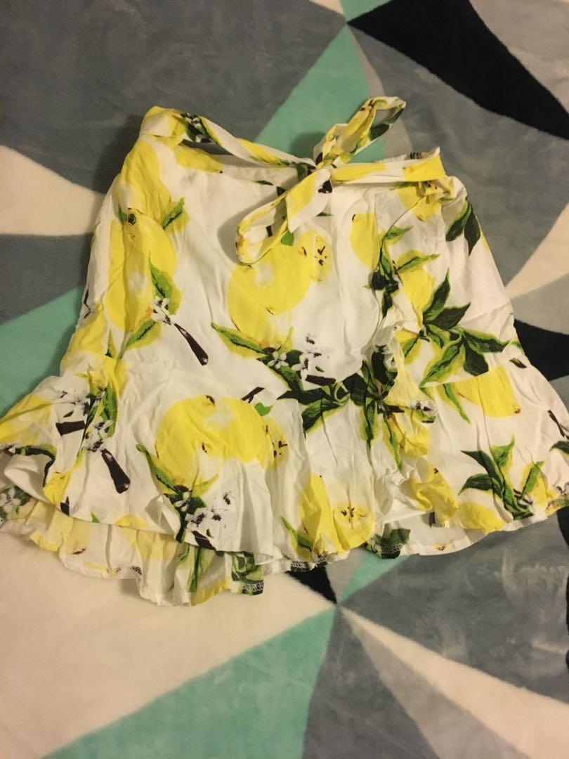 Lemons miniskirt size 10