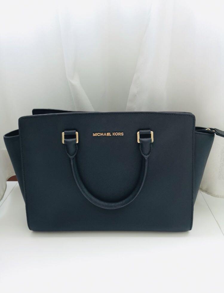 0f03b3a679f5 Michael Kors Selma Satchel (Large), Luxury, Bags & Wallets, Handbags ...