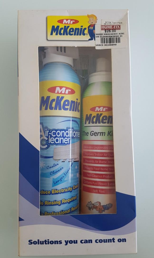 Mr Mckenic aircon cleaner & germ killer