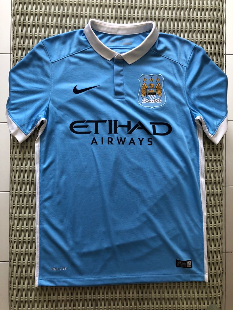 new arrival e0a80 02a85 Nike💯% Authentic light blue Manchester City home jersey, with 'Otamendi  30' nameset, for SGD$32 (size S)