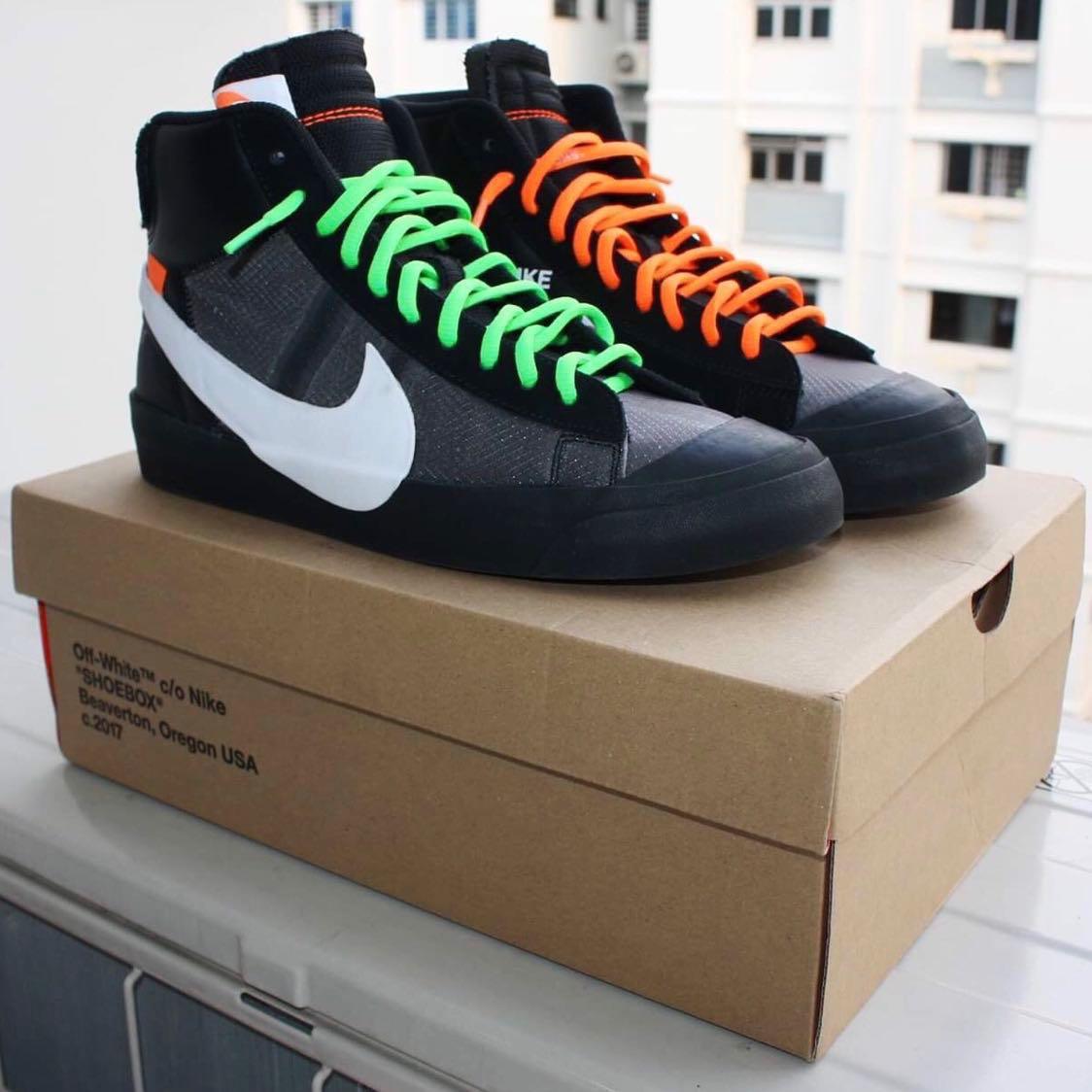 Nike Blazer Mid Off-White Grim Reaper for sale 2ed2e36e9
