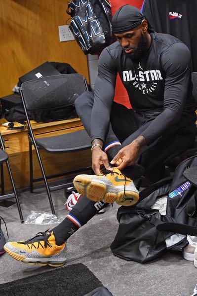 1cda3c3e107 Closed! Nike LeBron XVI Low Atmos (Safari) All Star Game
