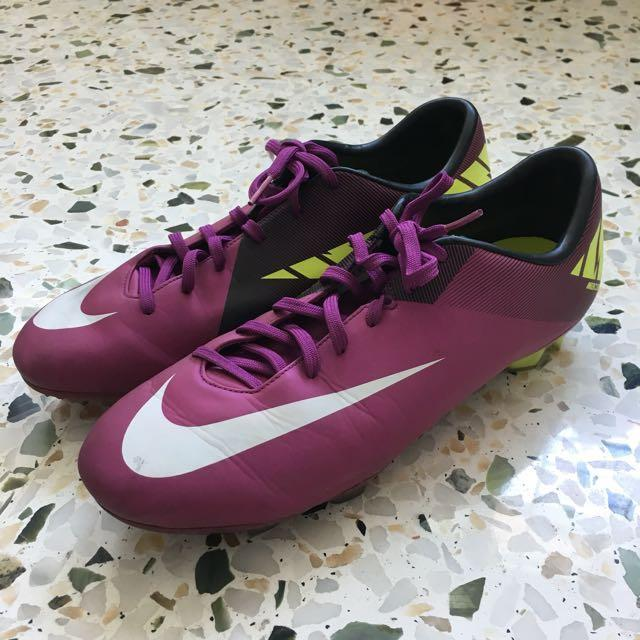 new style 0bec4 63857 Nike Mercurial Vapor Superfly III - Purple/White/Green ...