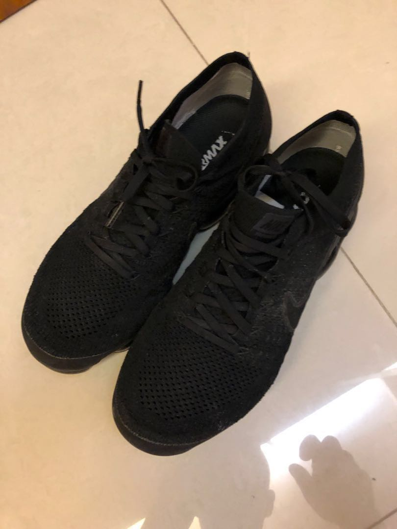 sports shoes 7707b 18a7a Nike Vapormax Flyknit Triple Black 2.0