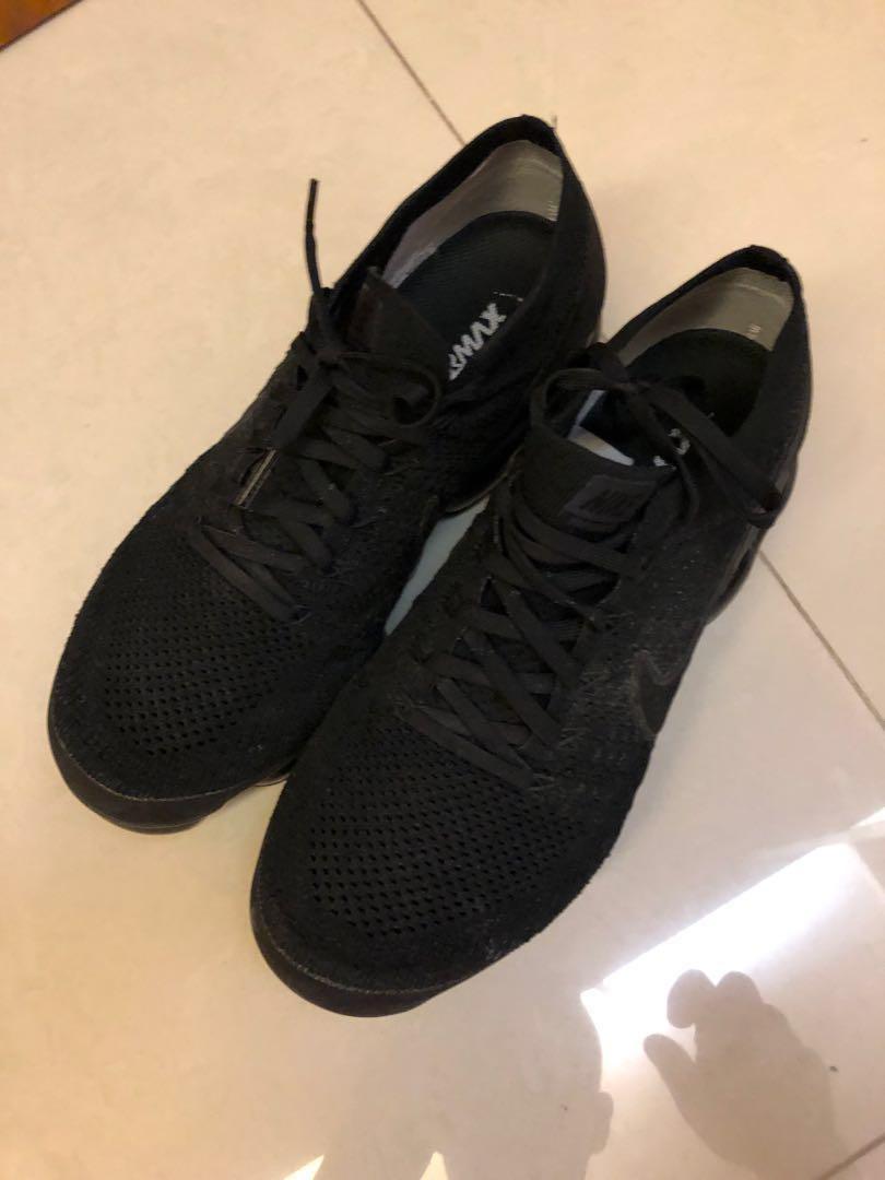 Nike Vapormax Flyknit Triple Black 2.0