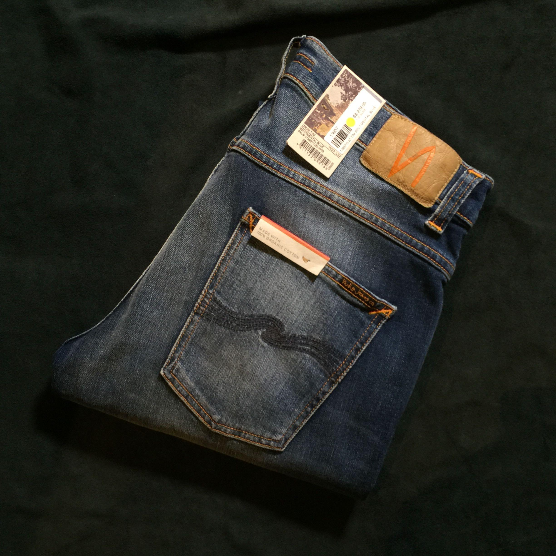 Sentimental Nudie Grim BlueMen's FashionClothes Jeans Tim doeBCx