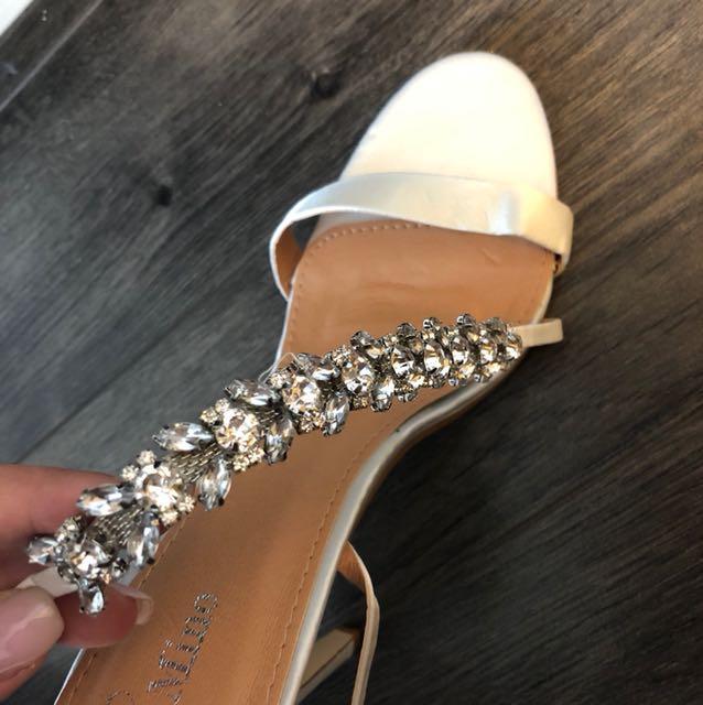 Occasion evening wedding heels