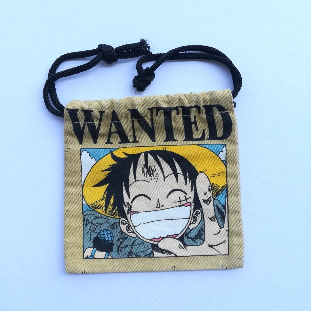 One Piece - Monkey D. Luffy - Mini Drawstring Pouch