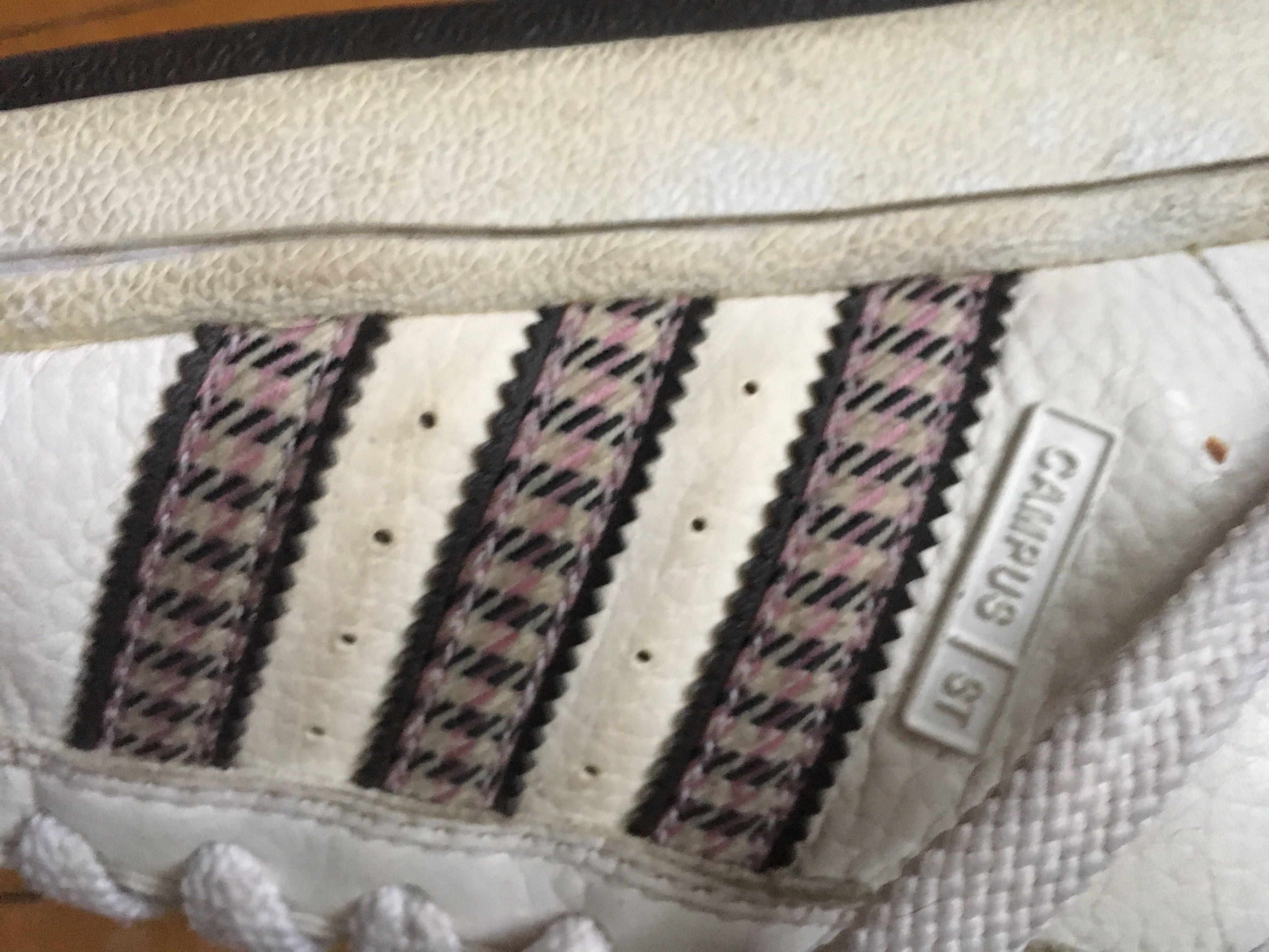 RARE vintage plaid adidas sneakers