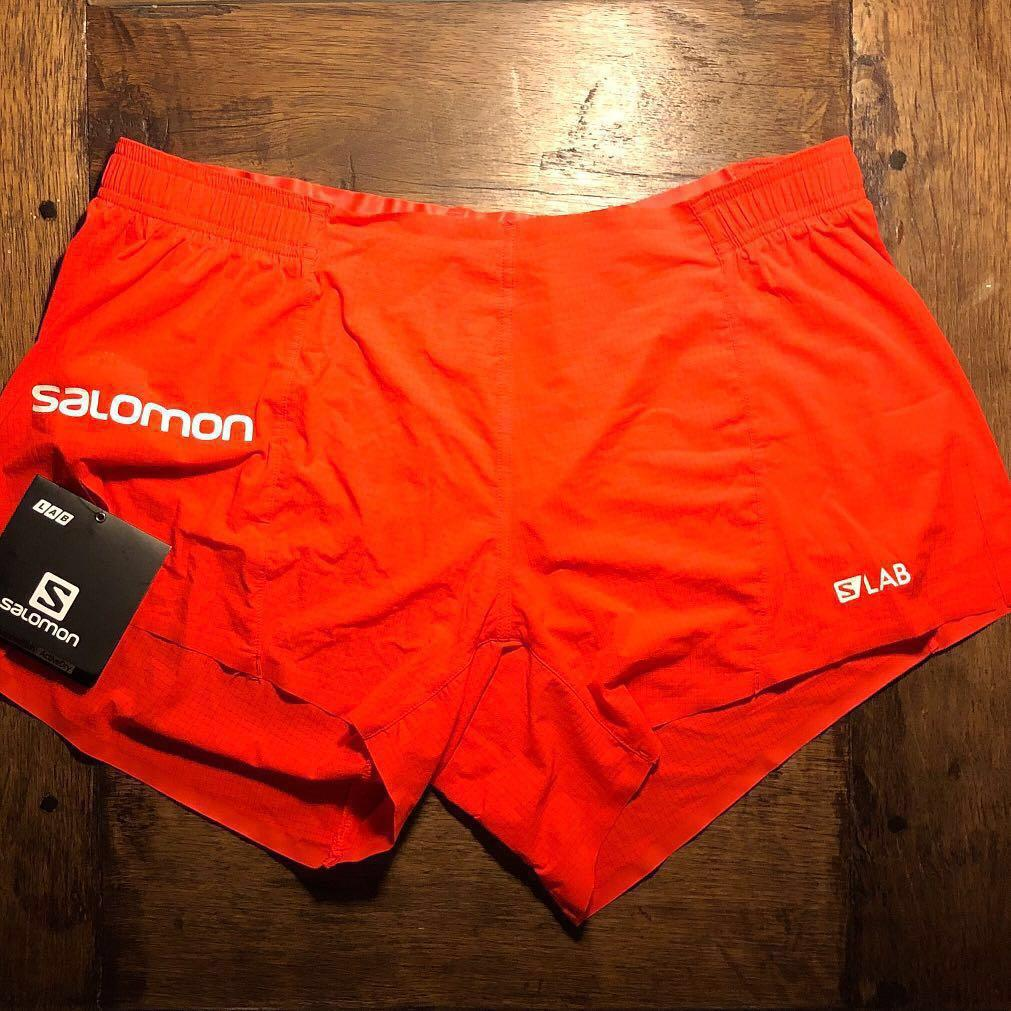 "e0945b76 Salomon S/Lab 4"" M Racing Short, Sports, Sports Apparel on Carousell"