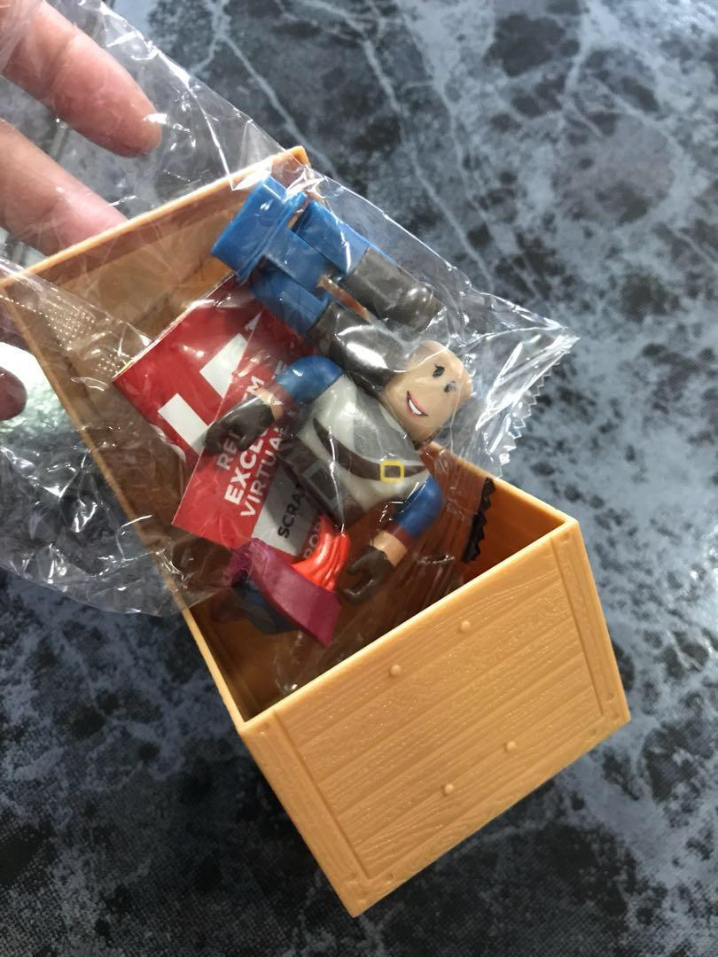 Series 2 Roblox figure with exclusive virtual item code