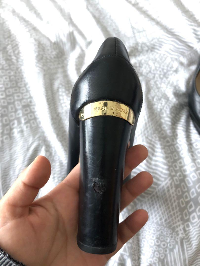 Size 6 Michael Kors Chunky Heels