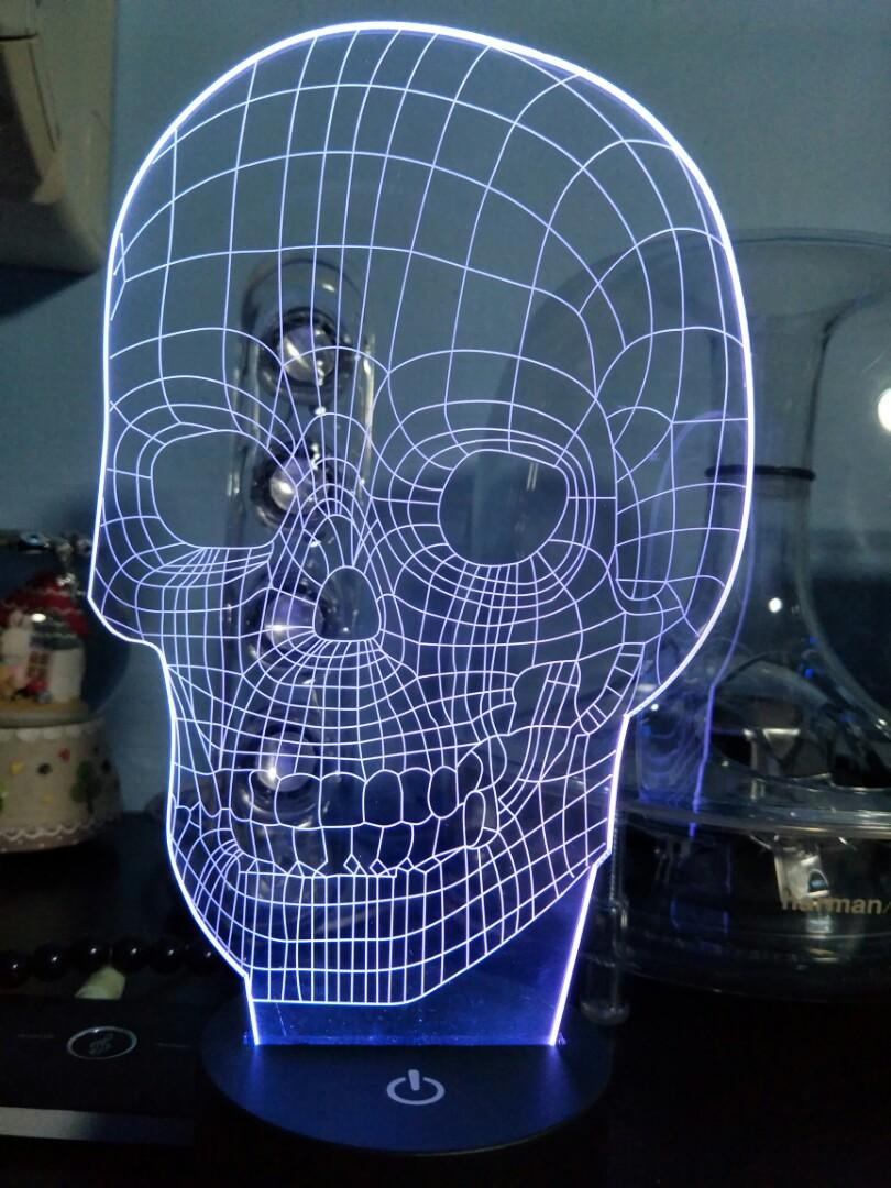 Skull led display