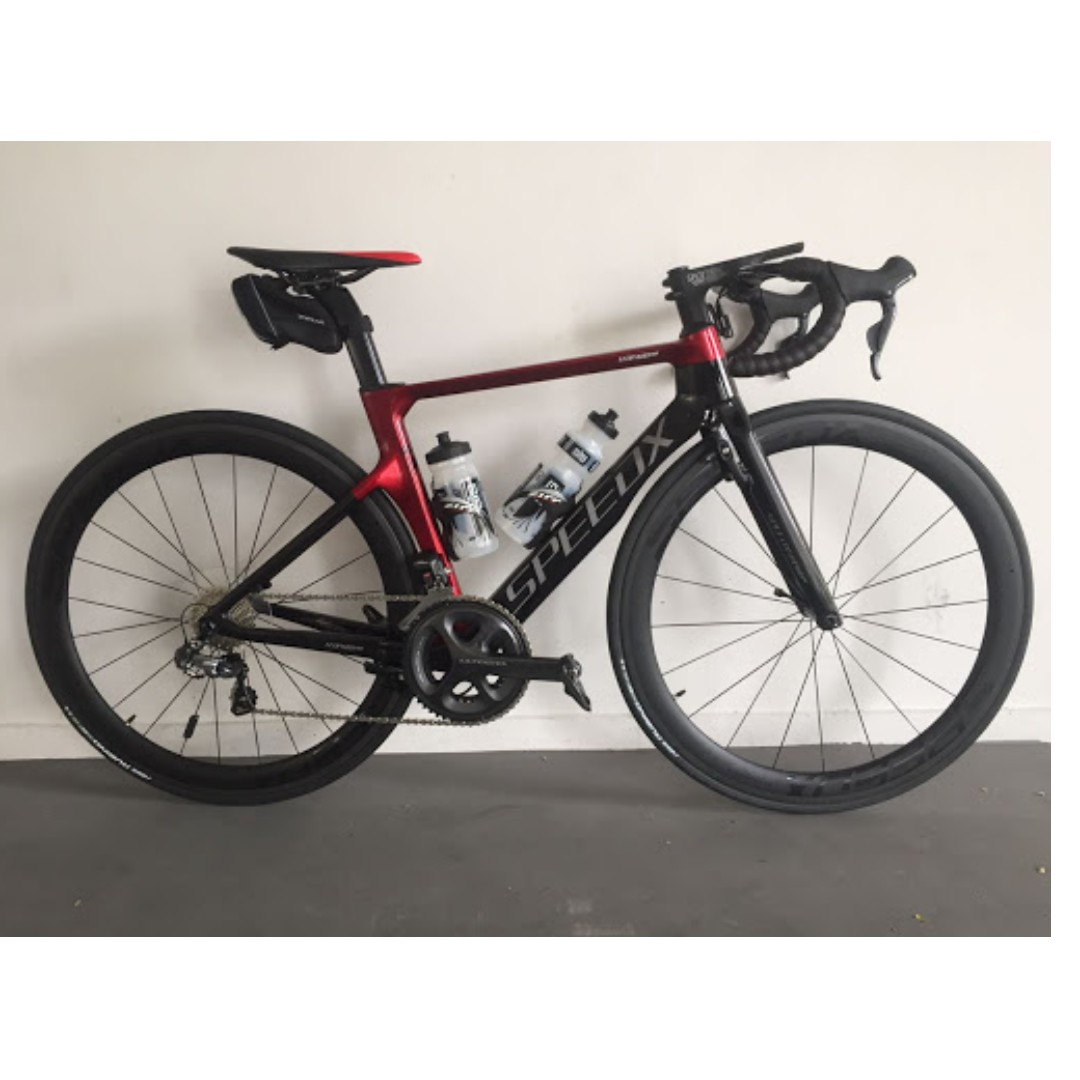 7c55baf317f SPEEDX LEOPARD PRO S SIZE FULL CARBON DI2, Bicycles & PMDs, Bicycles, Road  Bikes on Carousell