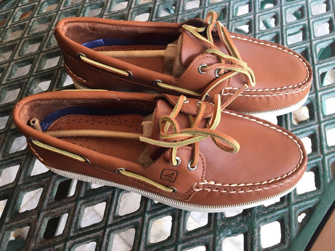 c651f07b544a Sperry A O 2-eye Boat Shoes in Tan