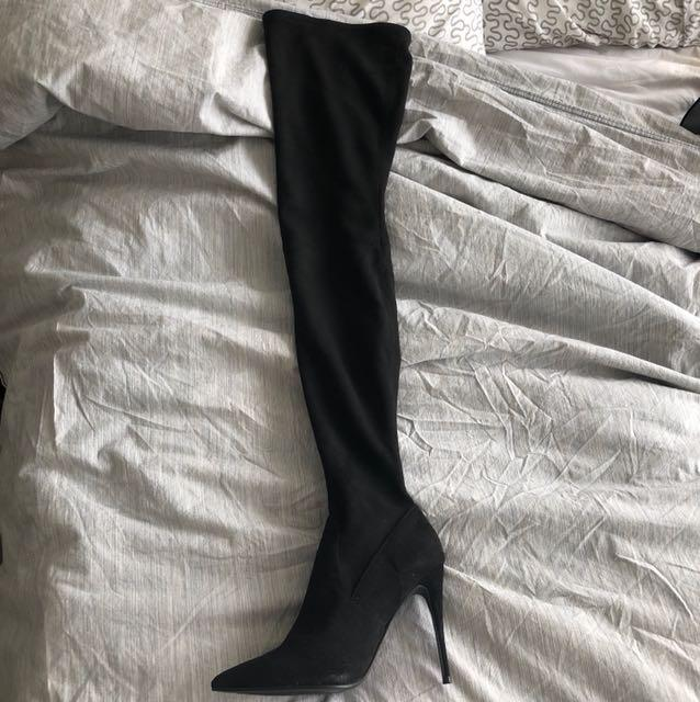 Steve madden dominique boots size 8.5