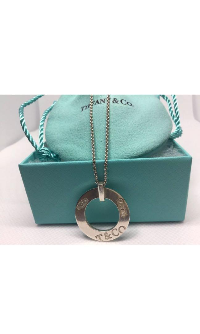 """Tiffany 1837 pendant on a 16"""" chain. Not Negotiable."""