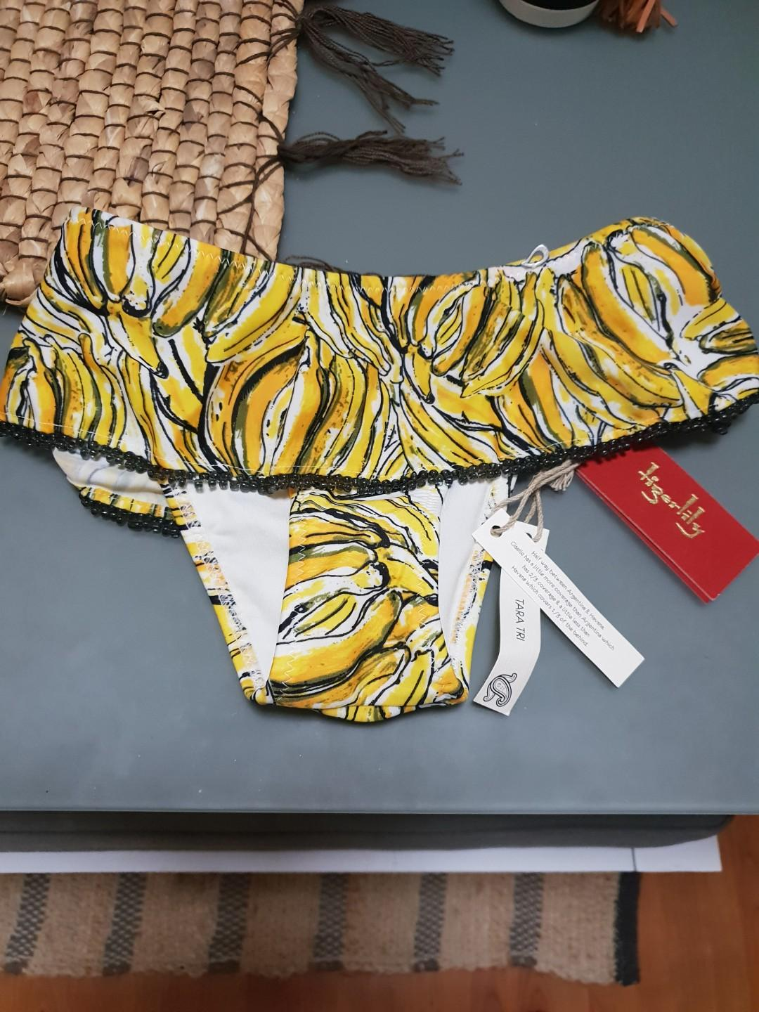 Tigerlilly bikini bottoms- brand new with tags and hygiene sticker in place