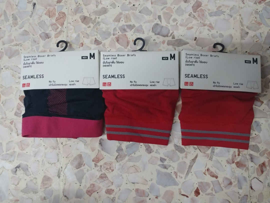 ee1ff32bc184 Uniqlo Boxer seamless, Men's Fashion, Clothes, Bottoms on Carousell