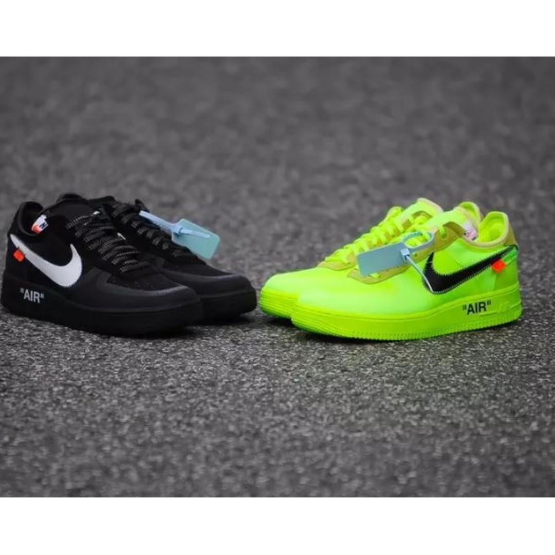 收want Nike Off White Air Force 1 The Ten Af1 Jordan Aj1 Yeezy
