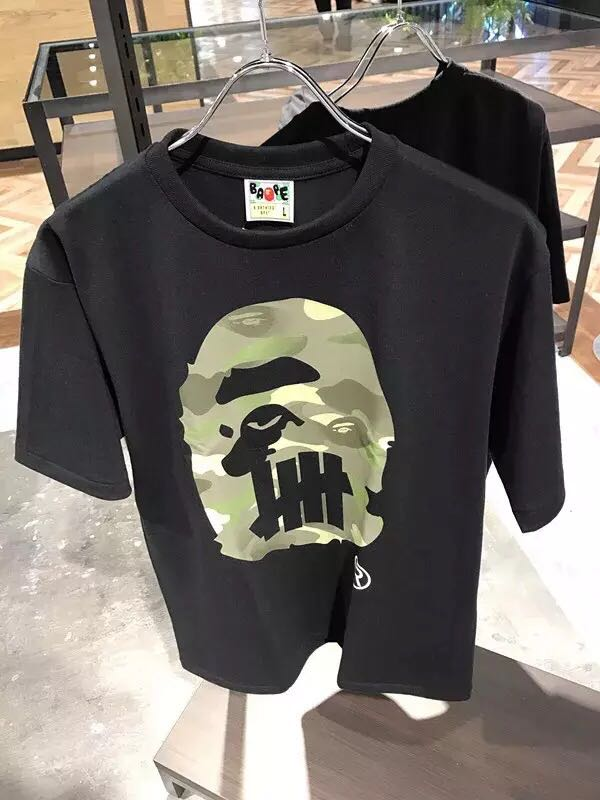 3ff0ccdf WTS Bape X undefeated Tee, Men's Fashion, Clothes, Tops on Carousell