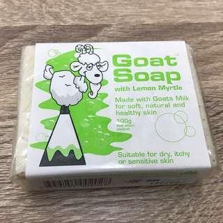 【澳客必買】 Goat Soap 手工檸檬羊乳皂100g