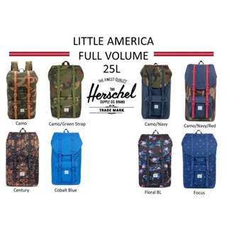 e18bdff187f Herschel Supply Little America Full Volume Backpack   Herschel Backpack   Herschel  Little America Backpack   Herschel   Herschel Full Volume Backpack 25L