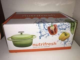 nutrifresh 20cm 2.4公升 圓形耳鍋