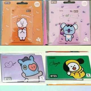 Looking for BT21 iPass and T Money READY STOCK