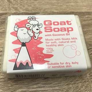 【澳客必買】 Goat Soap 手工椰子羊乳皂100g 現貨