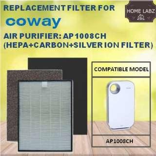 Compatible Filter for Coway AP1008CH / AP1008DH