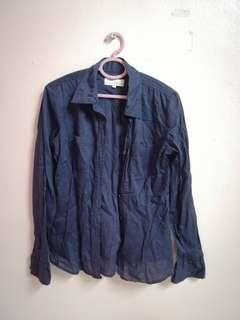 Blue Black shirt