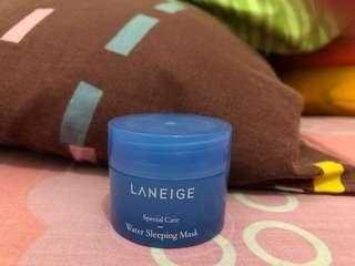 Laneige Water Sleeping Mask Travel Size